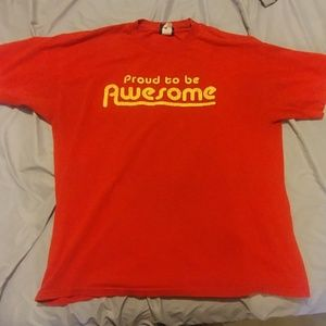 Proud to be AWESOME Hybrid XL Tee